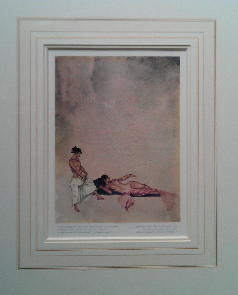 russell flint acquiescent angels print