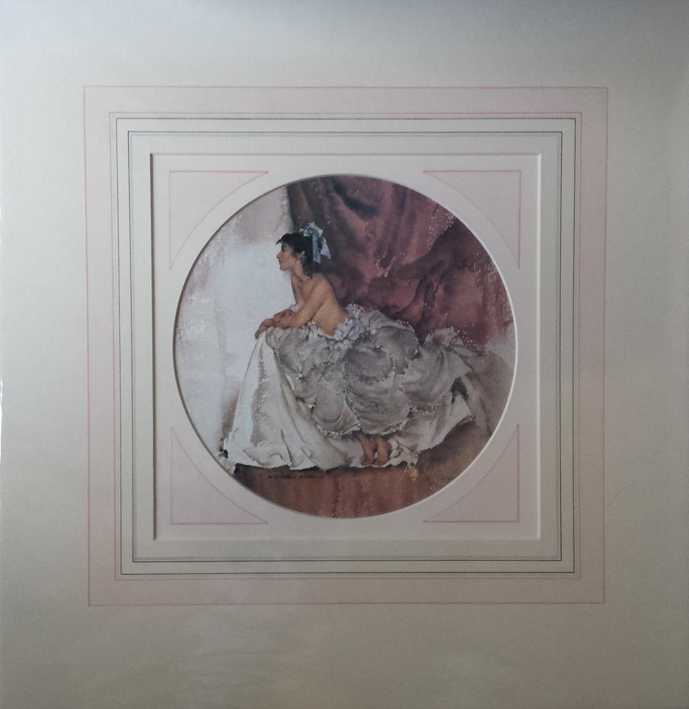 russell flint amanda, print