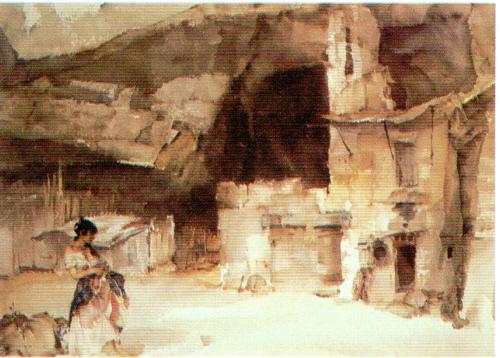 russell flint, In Ancient Perigord