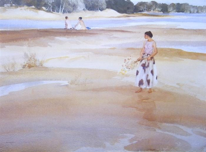 sir william russell flint Antoinette and the bathers