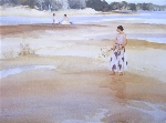 sir william russell flint Antoinette and the bathers calendar print