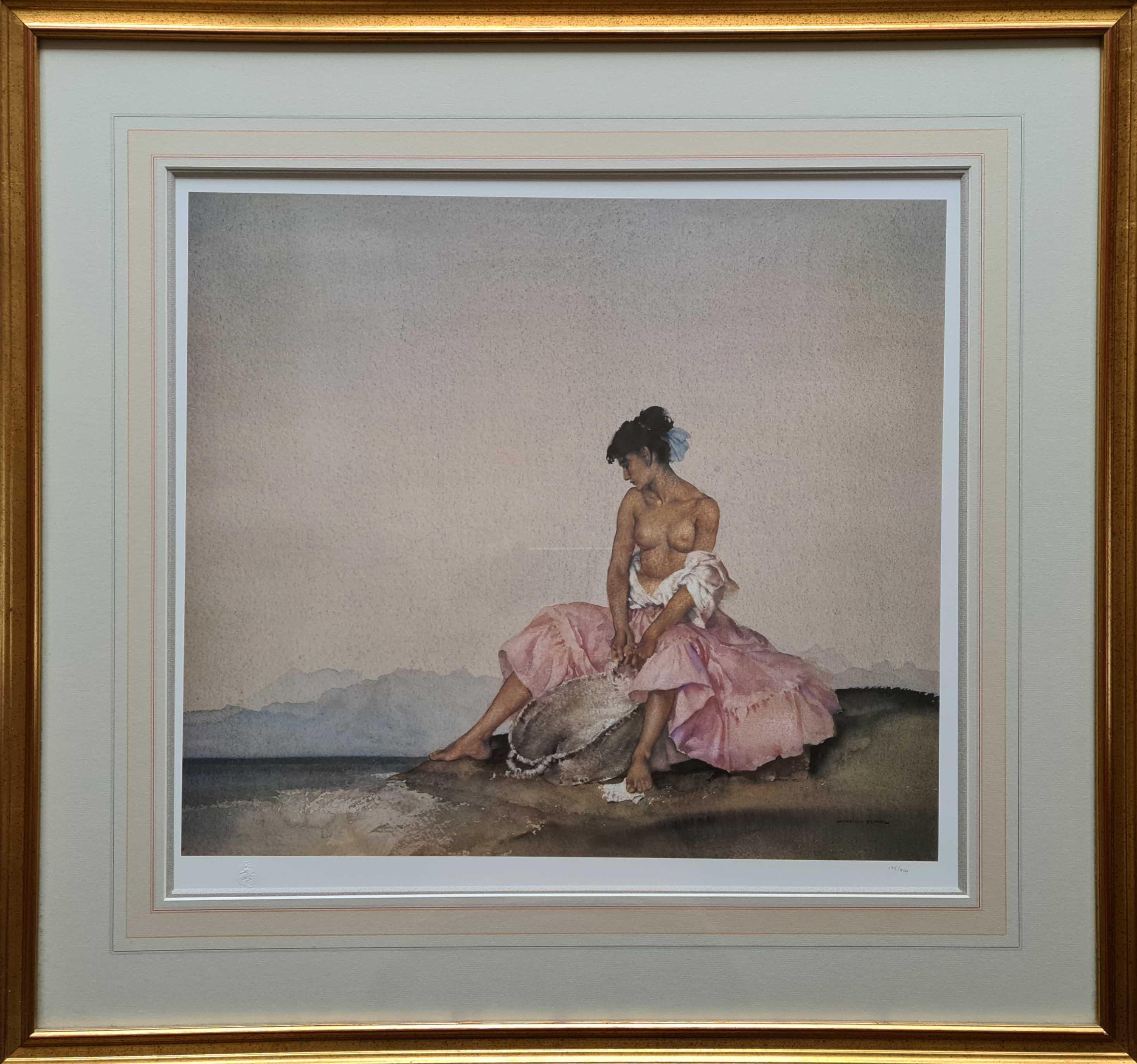 russell flint Ariadne framed