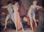sir william russell flint Artemis and Chione limited edition print