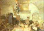 sir william russell flint  The Basket Makers print