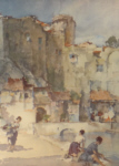 sir william russell flint, Beyond the Walls, limited edition print
