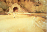 sir william russell flint  The Boathouse print
