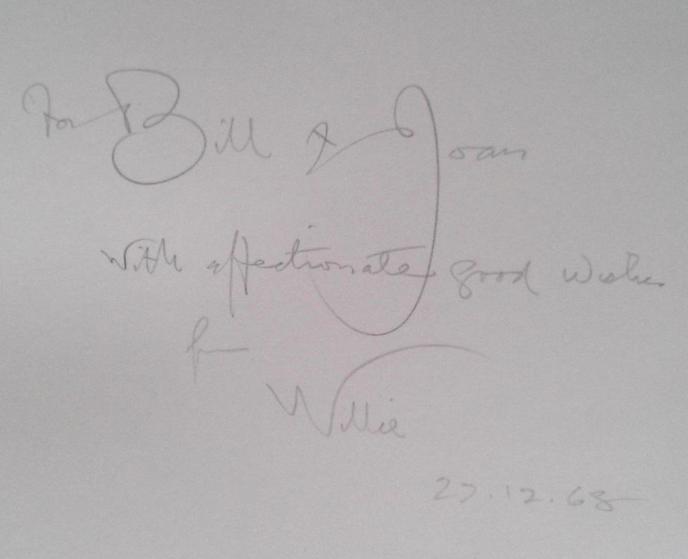 sir william russell flint breakfast in Perigord signed 2 book