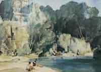 sir william russell flint, unknown, calendar-print