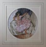 sir william russell flint Cecilia  limited edition print