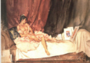 russell flint Cecilia and her Studies, limited edition print