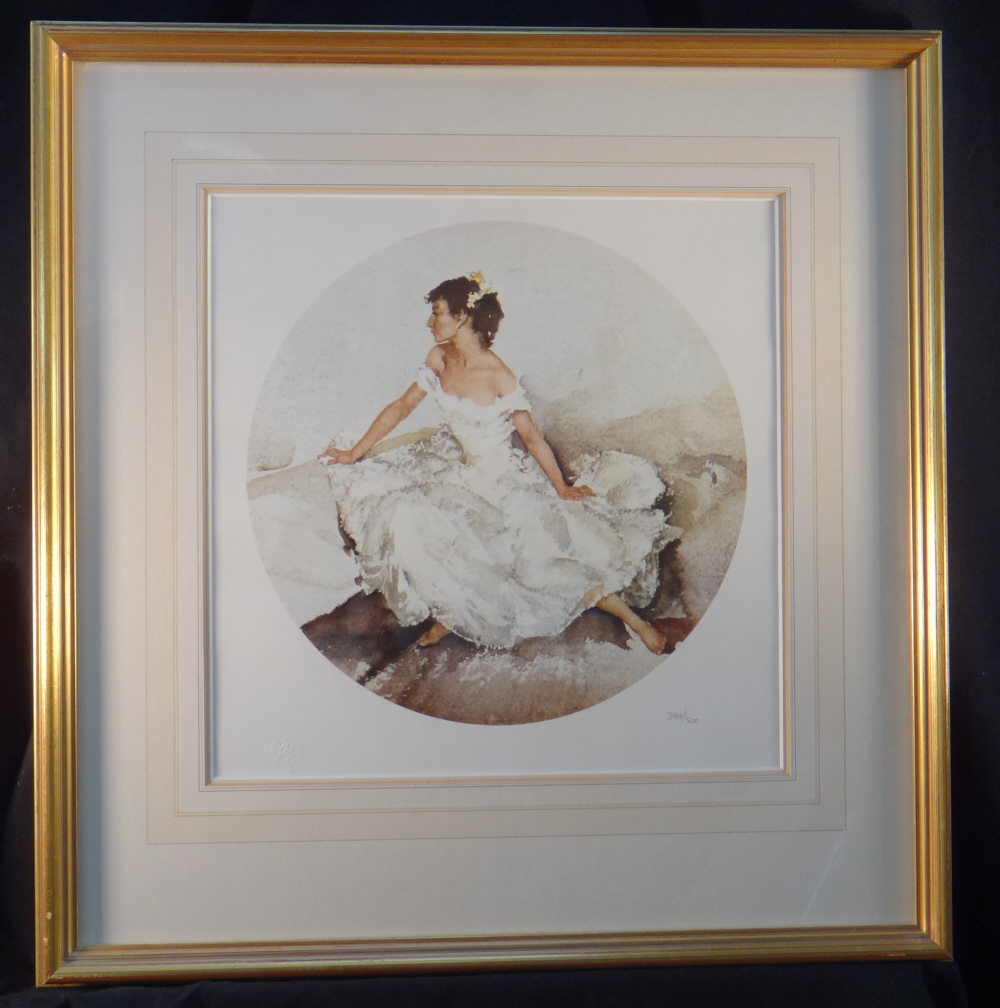 russell flint cecilia in april print framed