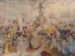 sir william russell flint cecilia in piccadilly circus, signed limited edition print