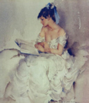 sir william russell flint cecilia reading the book of shadows limited edition print