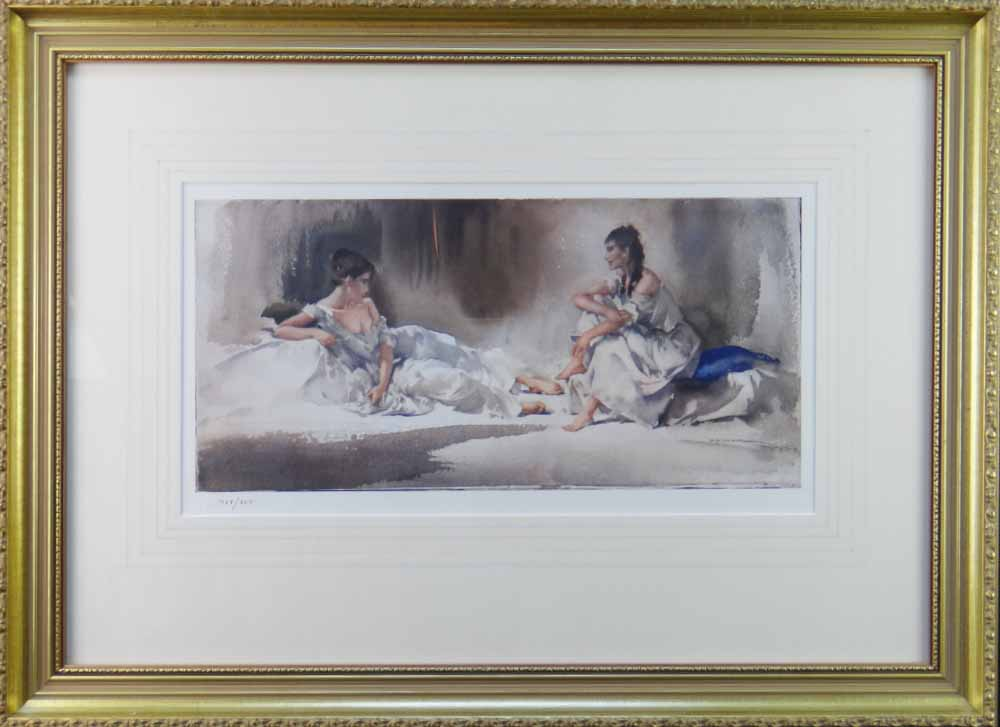 russell flint, confidential exchanges, print