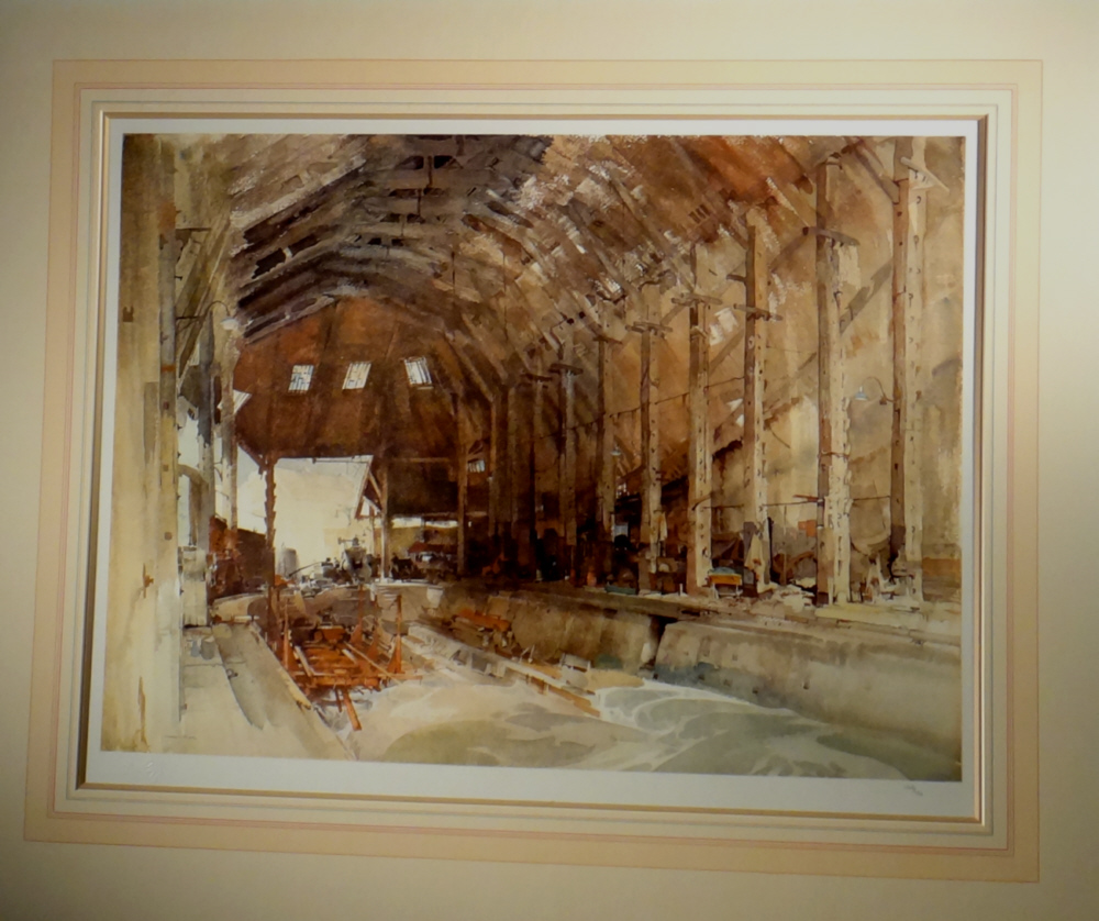 sir william russell flint, devonport dockyard