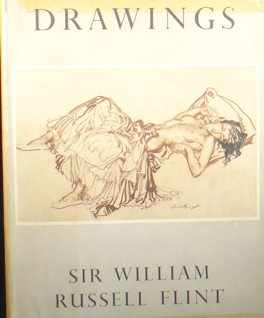drawings book, front, sir william russell flint