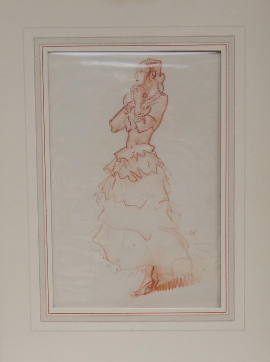drawings book, original, sir william russell flint