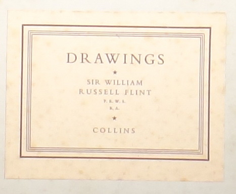 drawings book title, sir william russell flint