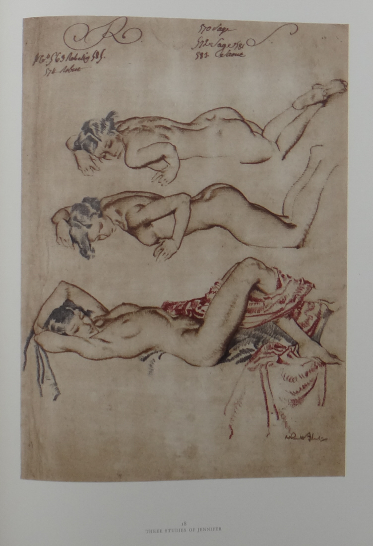 drawings book 2, sir william russell flint