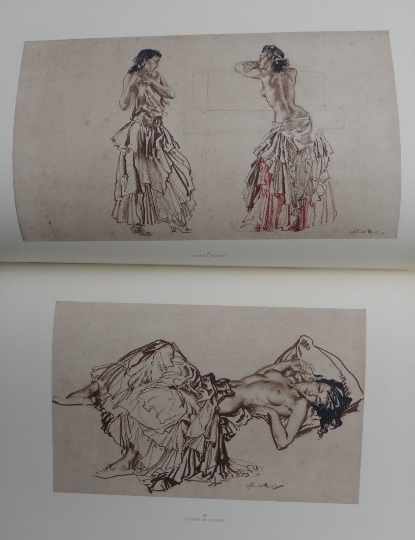 drawings book 5, sir william russell flint