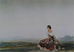 sir william russell flint, Esperanza, signed limited edition print