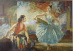 sir william russell flint, eve and yasmin, signed limited edition print