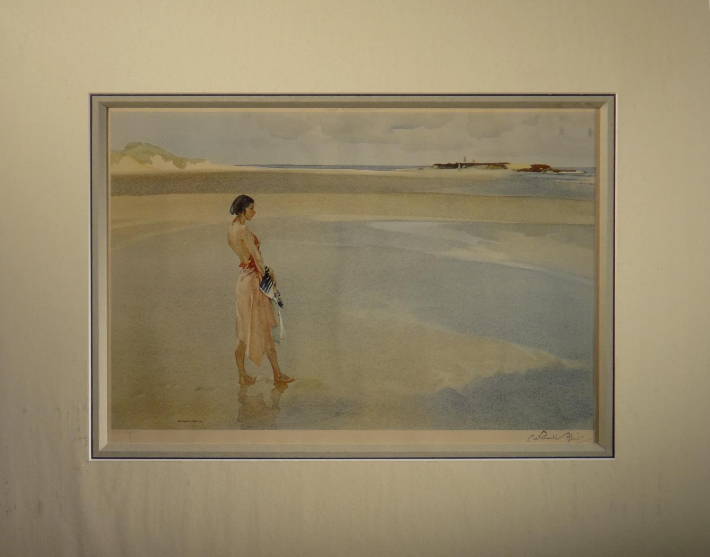 russell flint, signed print, Fair Horizon