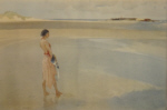 sir william russell flint, Fair Horizon, signed limited edition print