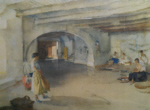sir william russell flint, Festal Preparations Manosque, signed limited edition print