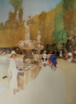 sir william russell flint Florentine Masquerade limited edition print