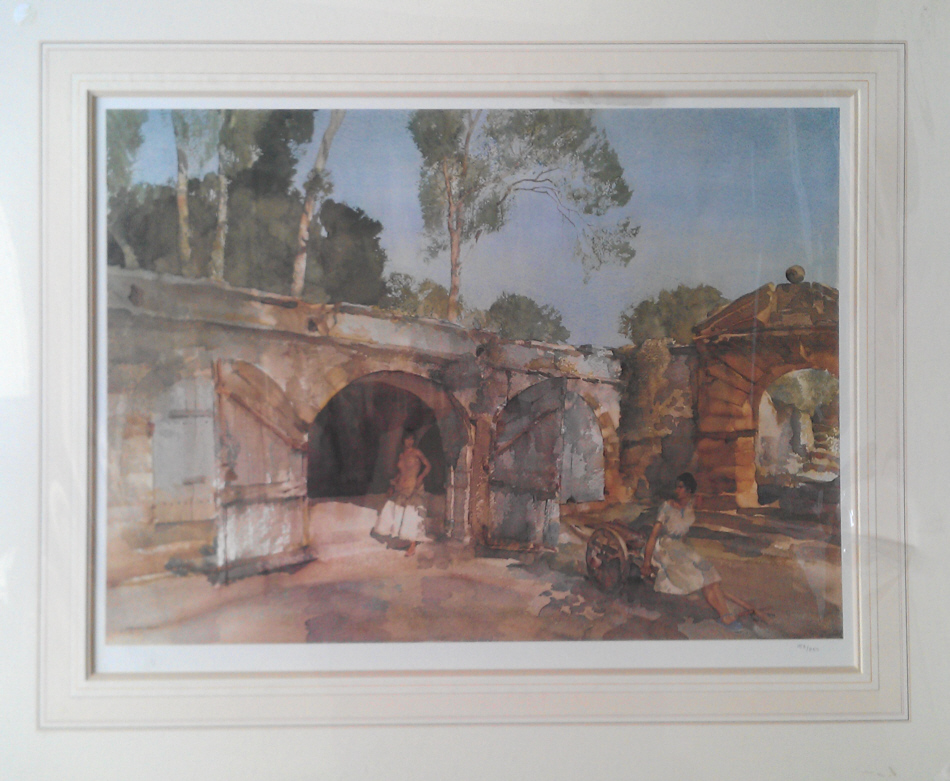 russell flint, Giselle and Julietta, limited edition print