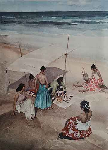 sir william russell flint limited edition prints