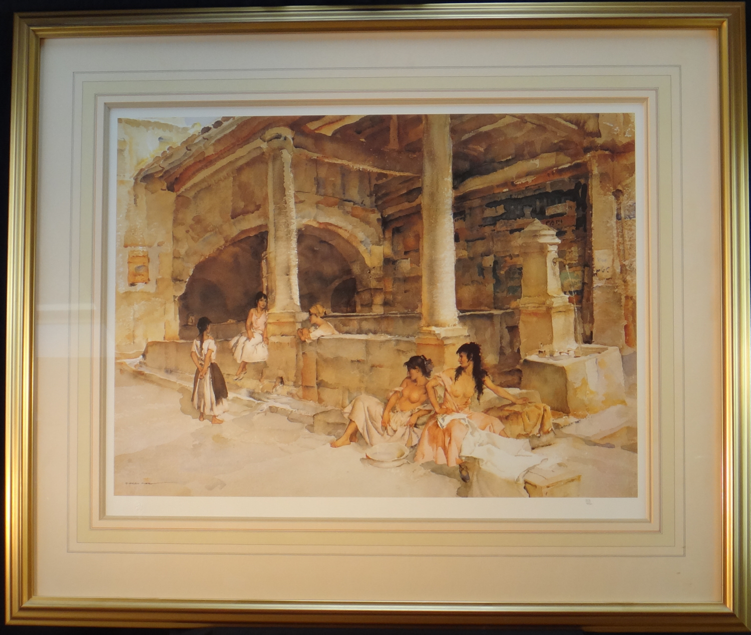 limited edition print, Gossip St. Jeanne, sir william russell flint