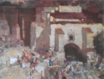 sir william russell flint Gypsy Festival St. Eulalia limited edition print