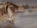 sir william russell flint holiday after Ramadan signed limited edition print