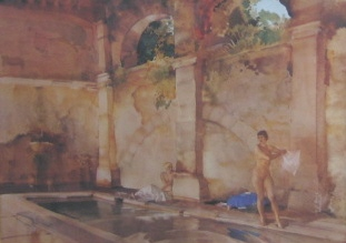 sir william russell flint In classic Provence