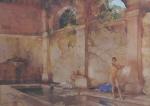 sir william russell flint in classic provence calendar print
