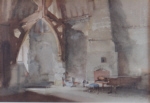 russell flint Interior at Chichester, print