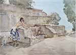 sir william russell flint isabella of Lucenay signed limited edition print