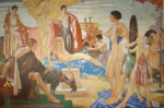 sir william russell flint Judgement of Paris limited edition print