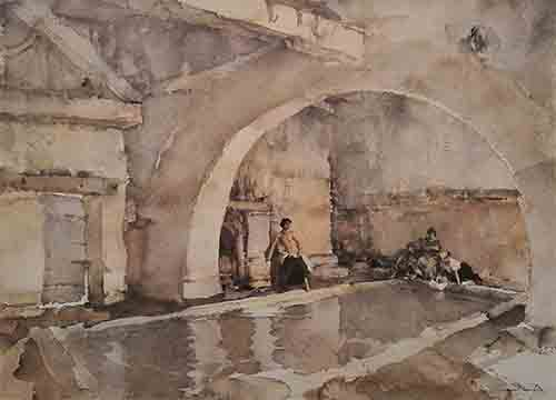 sir william russell flint model reclining limited edition print