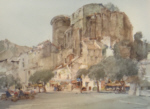 sir william russell flint la voulte sur rhone signed limited edition print