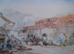 sir william russell flint The Dos Cabreras limited edition print