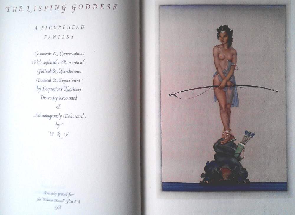 sir william russell flint lisping goddess book