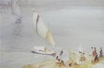 sir william russell flint Nile Ferry calendar print