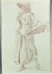 sir william russell flint, originals watercolour paintings, charlotte
