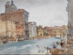 originals watercolour paintings, sir william russell flint, grand canal venice, cecilia