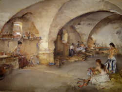 sir william russell flint, originals, watercolours, paintings