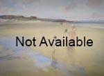 russell flint, broad beach, bambugh, original painting