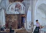 russell flint gitanes Languedoc original painting